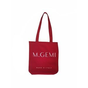 M. Gemi Made in Italy Canvas Tote Bag
